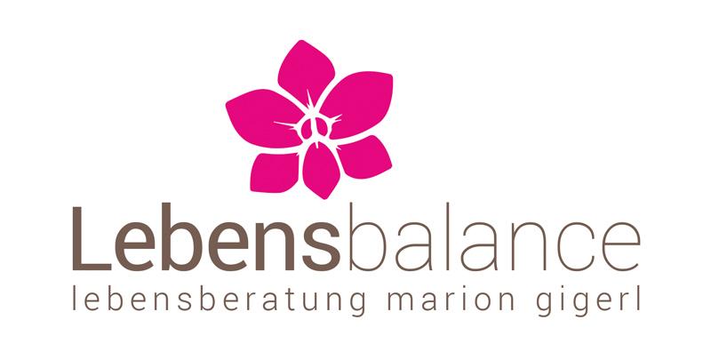 Logodesign Hannover - Logo für Lebensbalance Marion Gigerl