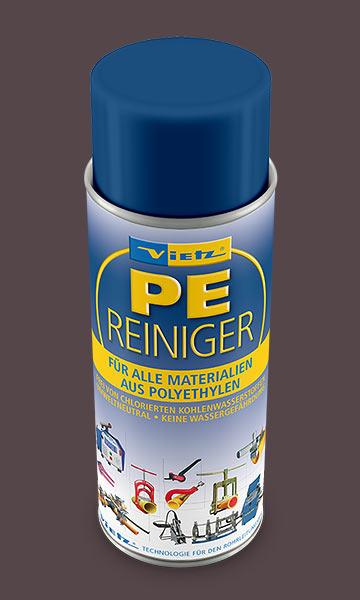 Grafikdesign -Verpackungsdesign - Beispiel PE-Reiniger Dose Firma Vietz GmbH
