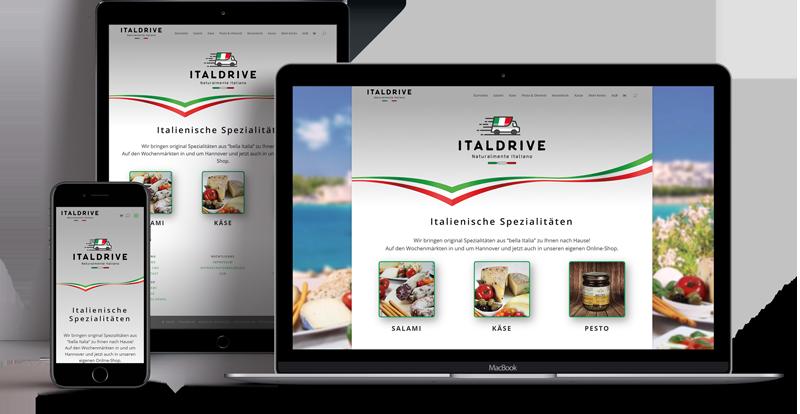 Webdesign - Responsive Website für Segebarth Friseure